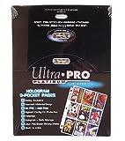 Ultra Pro 209D - 100 fogli da 9 schede ciascuna per raccoglitore