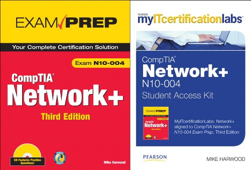 MyITCertificationlab: CompTIA Network+ N10-004 by Mike Harwood, CompTIA Network+ Exam Prep Bundle (Myitcertificationlabs) por Mike Harwood