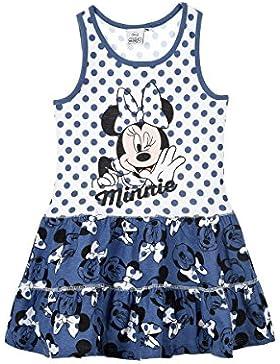Disney Minnie Mouse Rüschenkleid blau Gr. 92,98/104,110/116,122/128