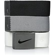 fd61d6894e5 Nike Mens Camo Performance Metalic Buckle Web Belt 3-Pack