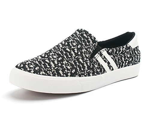 Demon&Hunter KU-DA Series Mens Fashion Sneaker C403297 No.III 403297BW x Noir & Blanc