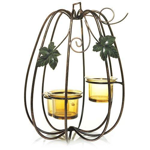 YANKEE CANDLE schimmernden Kürbisse Teelicht Kerzenhalter