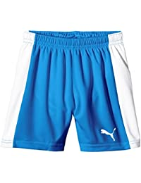 PUMA Hose Pitch Shorts Without Innerbrief - Prenda, Color Blanco (White-puma Royal), Talla XL amazon rosa Deportivo
