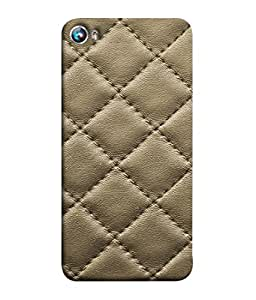 Fuson Designer Back Case Cover for Micromax Canvas Fire 4 A107 (Pearl Stitched Cross Hexagonal Designer Fashional)