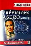 Prevision astro 2003