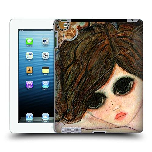 Preisvergleich Produktbild Offizielle Wyanne Tagtraum Garten Großäugiges Mädchen 2 Ruckseite Hülle für Apple iPad 3 / 4