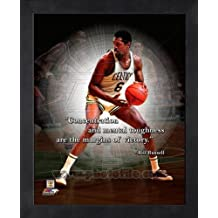 Bill Russell Boston Celtics Pro citas enmarcado 8 x 10 fotos
