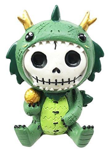 Smaug Kostüm - Gifts & Decor Furry Bones Tatsu Japanische Drachen Kostüm Skelett Monster Sit up Collectible Figur