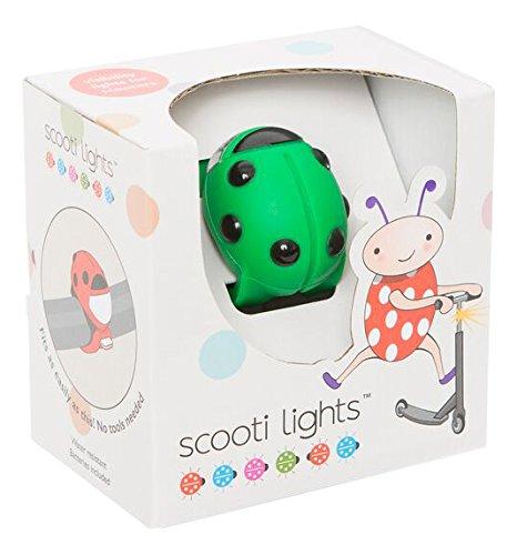 Buggi Lights BUGGISCOOTGR Scooti Rollerlicht - grün mit schwarzen Flecken