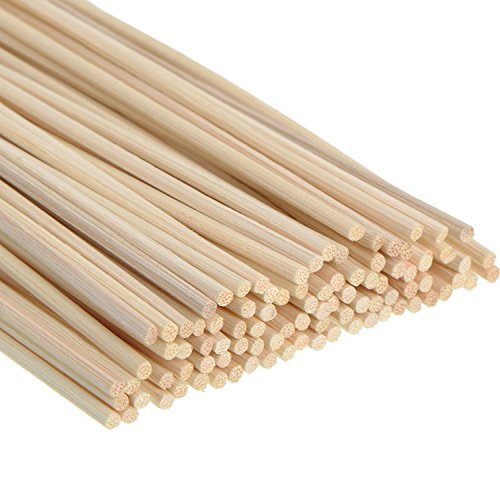 100 Stück Rattanstäbchen Reed Diffusor Stöcke Holz Rattan Reed Sticks ätherisches Öl Aroma...