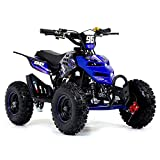 Funbikes 49cc Blue Kids Big Wheel Mini Quad Bike - PCF8AAE8