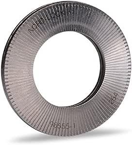 in acciaio nella scatola assortimentale dimensione M6 100 paia di rondelle di sicurezza Nord-Lock M8 M16 M10 M20 M12