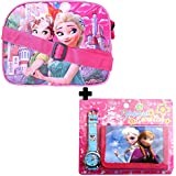GRAPPLE DEALS New Cartoon Design Kids Sling Bag With Beautiful Watch, Wallet Complete Set For Kids Girls(Combo For Girls)