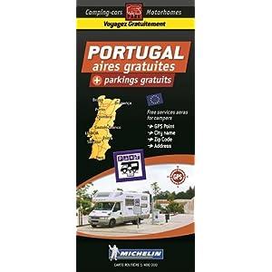 CARTE DES AIRES GRATUITES PORTUGAL - TRAILER'S PARK