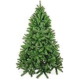 Spritzguss Weihnachtsbaum 180cm in Premium Spritzguß Qualität, grüne Douglastanne, künstlicher Tannenbaum mit PE Kunststoff Nadeln, wie echt wirkend, Douglasie Christbaum