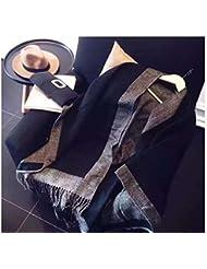 Las mujeres de moda abrigo de manta de gran tamaño de la bufanda chal de Cachemira chaqueta acogedor 130X150cm