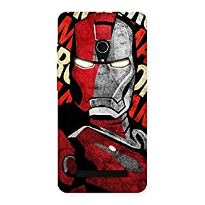 Enticing Introduction Man Back Case Cover for Zenfone 5