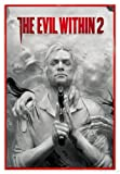 Close Up The Evil Within 2 Poster Key Art (94x63,5 cm) gerahmt in: Rahmen rot