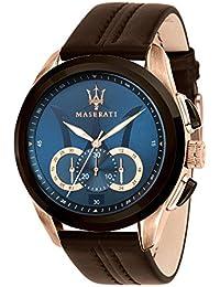 b54a227cd80e MASERATI Reloj Cronógrafo para Hombre de Cuarzo con Correa en Cuero  R8871612024