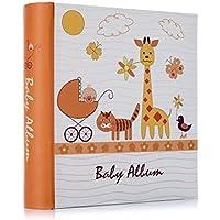 Álbum de fotos con compartimentos para bebé de 15,2 x 10,6 cm