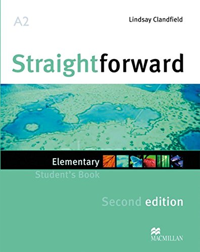 Straightfoward Sec. Ed. Elementary: Straightforward Second Edition: Elementary / Package: Student's Book with Webcode and Workbook with Audio-CD