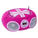BigBen Interactive CD 32 GB Girly Radio/Radio-réveil Lecteur CD