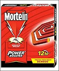 Mortein Power Booster Coil Box - 10 Count (Pack of 5)