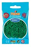 Hama Perlen 501-10 - Mini-Perlen, 2000 Stück grün