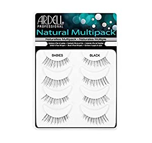 Ardell Natural Style Babies Multipack Eye Lashes, Black