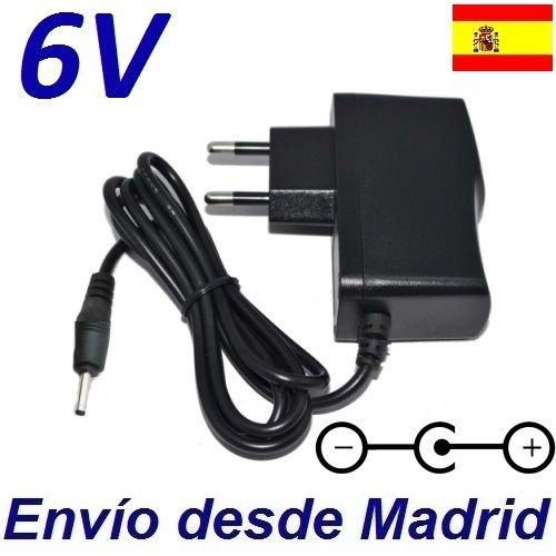 Cargador Corriente 6V Reemplazo Vigilabebes Tomy Digital TD300 Recambio Replacement