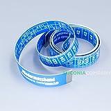 Cinta métrica para medir talla de sujetador para el pecho de 150cm, azul, 1