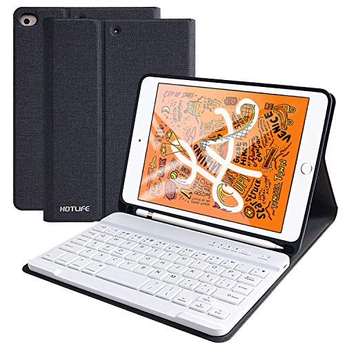 HOTLIFE Funda con Teclado iPad Mini 5