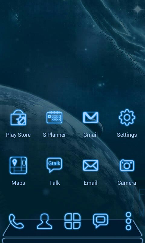Future Next Launcher 3d Theme Amazoncouk Appstore For Android