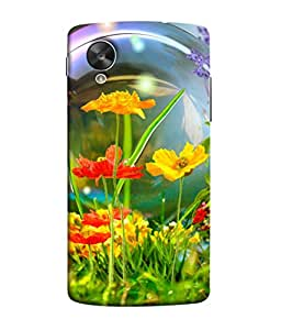 PrintVisa Interior Flowers 3D Hard Polycarbonate Designer Back Case Cover for LG Nexus 5 :: LG Google Nexus 5 :: Google Nexus 5