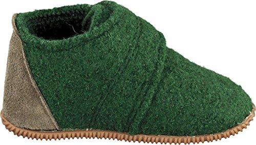 Giesswein Unisex-Kinder Oberstaufen Hausschuhe Grün (Avocado)