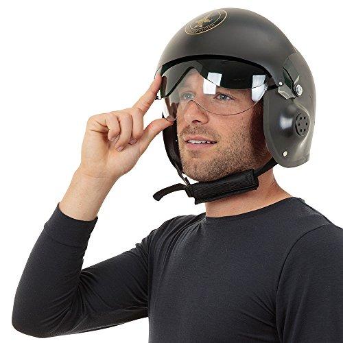 Bristol Novelty bh616Jet Pilot Helm, eine Größe