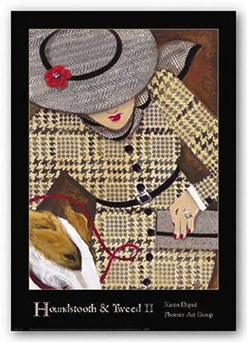 Houndstooth and Tweed Two de Karen Dupre Tirages d'Art