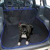 Livivo® - Funda 2en 1resistente al agua para asiento trasero y maletero de coche