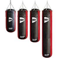 GREEN HILL SACO RELLENO PROFESIONAL PUNCHING BAG HEAVY BAG CUERO (90cm x 35cm x 25kg)
