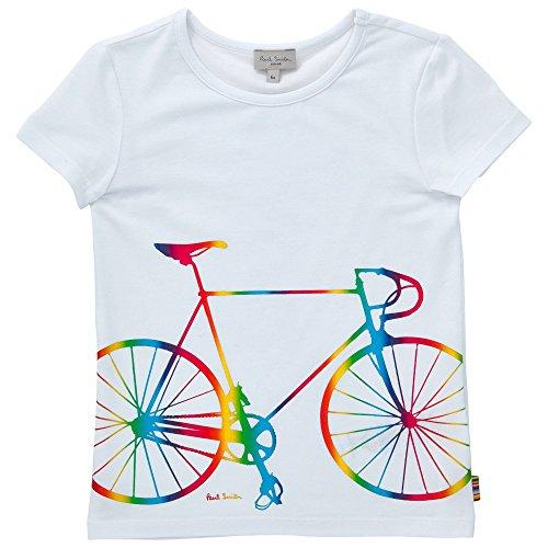 Paul Smith - T-shirt, Colore: Bianco Taglia: 8 Anni