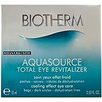 Biotherm - Aquasource Total Eye Revitalizer - Crema de ojo revitalizadora - 15 ml