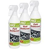 HG Fett-Entferner, 3er Pack(3 x 500 ml)