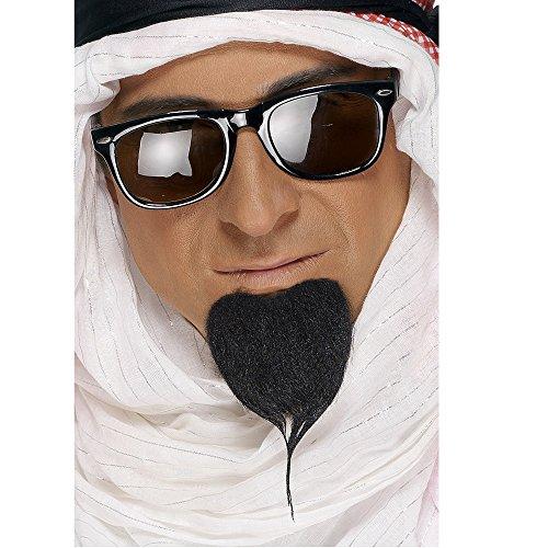 Araberbart schwarz Araber Arabien Scheich Bart Schn�uzer