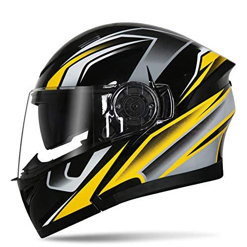 Bluetooth-Casco-Moto-Doppia-Lente-Locomotiva-Casco-Integrale-Tutta-La-Stagione-Anti-nebbia-Personalit-Freddo