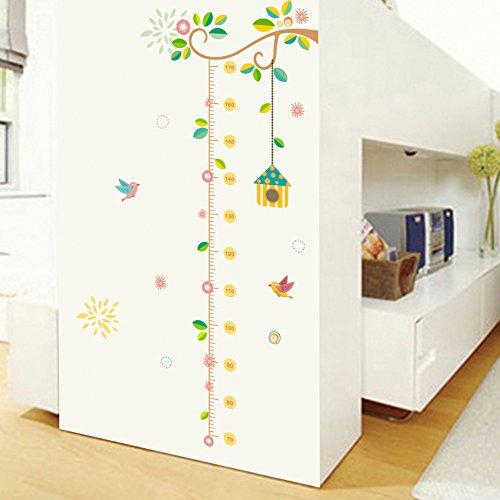 Medidor altura niños Pegatina pared vinilo decorativo