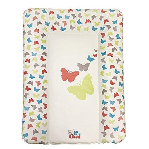 Colchón Cambiador de Bebé Blando de Petit Chat 70*5*50 cm- modelo Mariposas