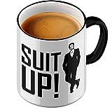 Funtasstic Tasse Suit Up - Kaffeepott Kaffeebecher by StyloTex