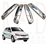 #5: RedClub Chrome Plated Door Handles/ Catch Covers for Tata Indica with Free 01 RedClub Pen