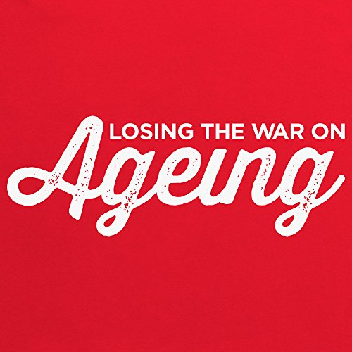 The War on Ageing T-Shirt, Herren Rot