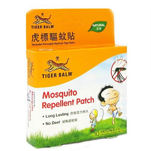 Tiger Balm Mückenabwehrflicken, 10 Stück pro Packung